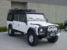 Defender 130 Beach Runner