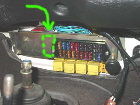 Land Rover Defender Fuse Box Location Wiring Diagram And